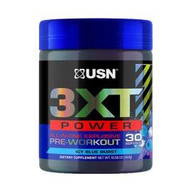 USN 3XT Power Pre-Workout 30 servicios Icy Blue Burst