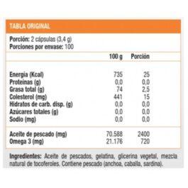 FISH OIL 1200 mg SUNDOWN- 200 Softgel