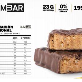 Barrita de Proteínas 60 Grs Slimbar